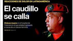 'El caudillo se calla', y otras portadas de la prensa sobre Chávez