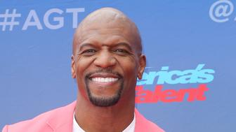 "Terry Crews arrives at the ""America's Got Talent"" Season 14 Kickoff at the Pasadena City Auditorium on Monday, March 11, 2019, in Pasadena, Calif. (Photo by Willy Sanjuan/Invision/AP)"