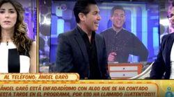 El cabreo monumental de Ángel Garó contra 'Sálvame':