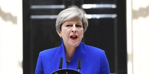 La primera ministra británica, Theresa May, anuncia sus planes para formar