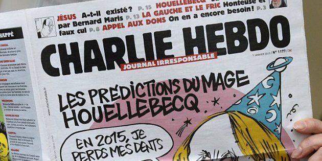 La revista 'Charlie Hebdo' presenta a Theresa May decapitada en su