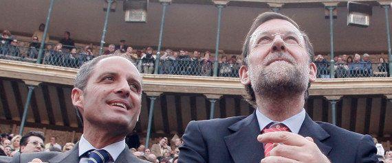 Los piropos envenenados de Rajoy: Camps, Matas y Fabra y otros