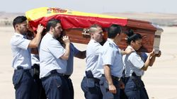 Llega a España el cuerpo de Ignacio Echeverria, asesinado en el atentado de