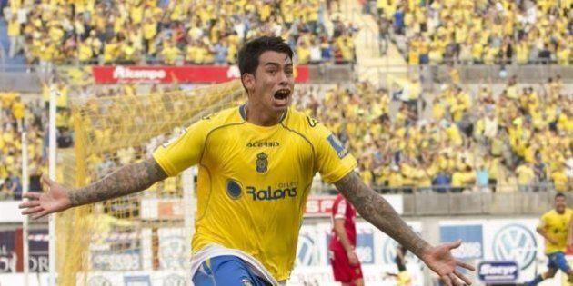 Sergio Araújo, de Las Palmas, vuelve a dar positivo en un control de