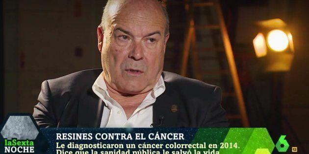 Antonio Resines relata cómo superó el cáncer: