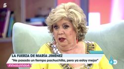 María Jiménez vuelve a la televisión dos años después y habla de su
