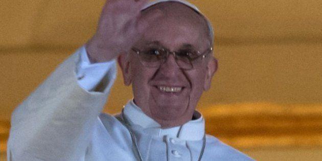El papa Francisco bromea con los cardenales sobre su elección: