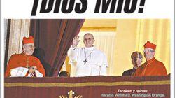 Francisco, en las portadas de los periódicos