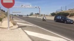 El tuit con el féretro de Ignacio Echeverria escoltado por la Guardia Civil en la autovía que ya es un