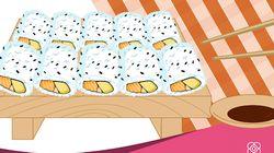 Aprende a preparar un California roll, el sushi más