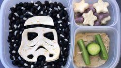 Alucina con los almuerzos (galácticos) que prepara este