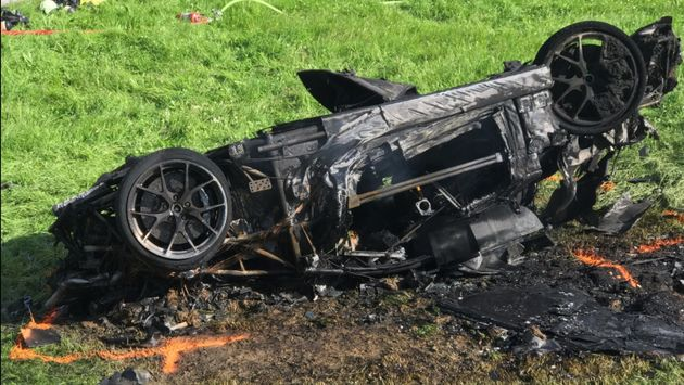El expresentador de Top Gear Richard Hammond acaba en el hospital tras un grave accidente de