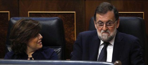 Rajoy y la vicepresidenta