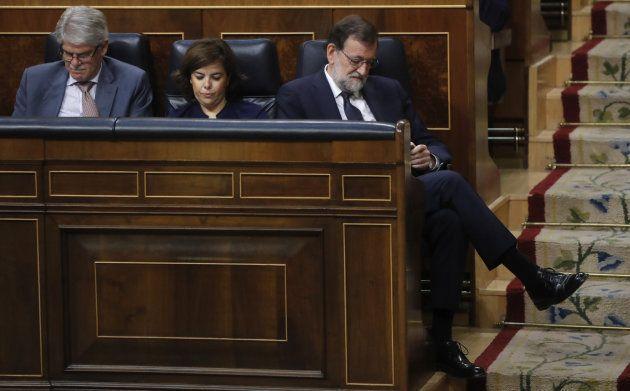 Rajoy, Sáenz de Santamaría y