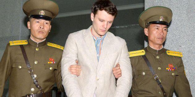Corea del Norte pone en libertad al estadounidense Otto Warmbier, detenido desde