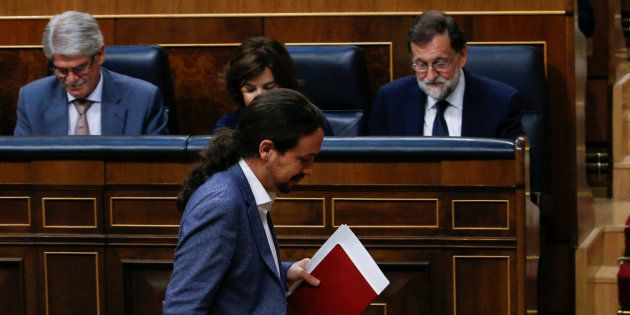 Pablo Iglesias y Mariano