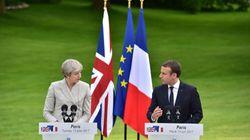 Theresa May y Emmanuel Macron anuncian un plan conjunto para frenar el