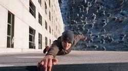 Imágenes de vértigo: Un Spider-man de la vida real (FOTOS,