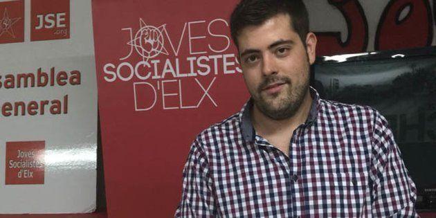 Detenido el líder de las juventudes socialistas de Elche por consumir contenidos