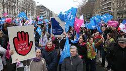 Una multitud en París: