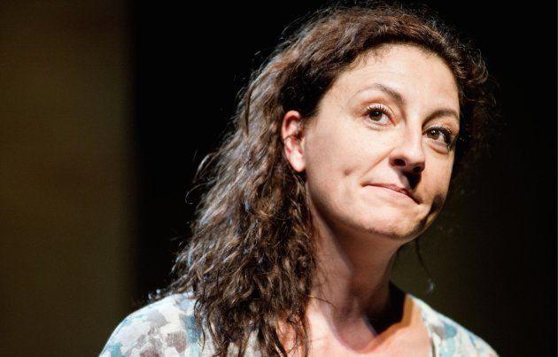 Nuria Mencia en 'La respiración' - Teatro de la