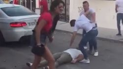 La Policía investiga una escalofriante pelea en Marbella después de que un joven molestase a la novia de