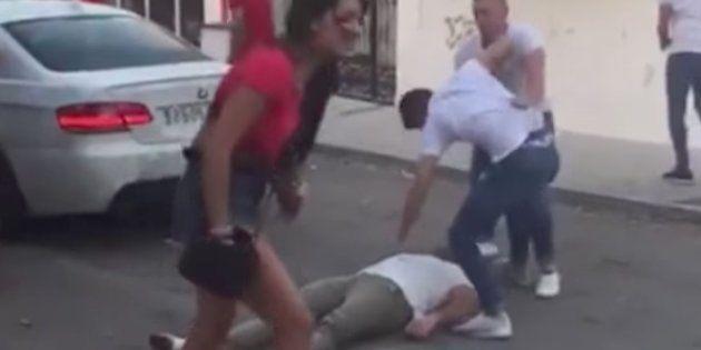 La Policía investiga una escalofriante pelea en Marbella después de que un joven molestase a la novia...
