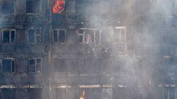 Un bebé sobrevive al incendio de Londres tras ser arrojado desde el piso