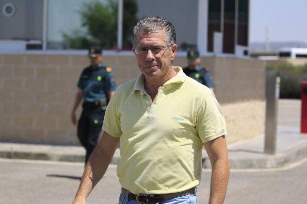 Francisco Granados sale de la cárcel de