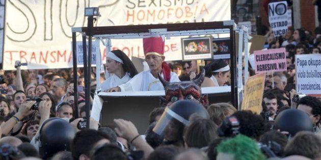 Los colectivos ateos de Madrid desconvocan la manifestación atea para no ser