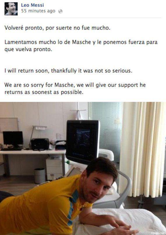 Lesión de Messi: Baja contra el Mallorca y puede llegar contra el PSG