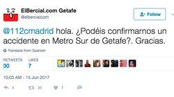 El 112 de la Comunidad de Madrid pide perdón por la respuesta a este