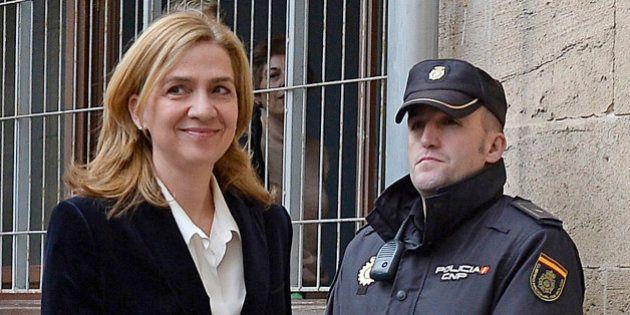 La Fiscalía le pedirá a la infanta Cristina una fianza civil de 500.000
