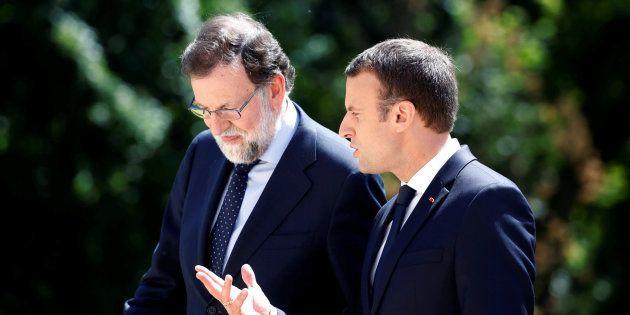 Macron se desmarca del referéndum catalán: