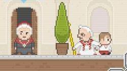 Piden retirar un juego que muestra a Benedicto XVI como un proxeneta de