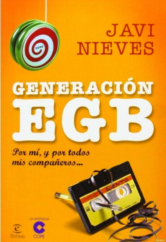 Generación EGB: viaje a la nostalgia con el libro de Javi Nieves