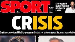 La portada de 'Sport' sobre Cristiano Ronaldo que ha indignado a