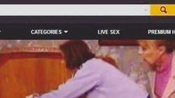 El montaje porno de 'Aquí no hay quien viva' que está circulando por las
