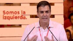 El lapsus de Pedro Sánchez al referirse a los