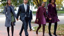 La tierna foto antigua con la que Michelle Obama felicita a Barack por el Día del