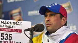 Capriles cancela las protestas tras el aumento de la