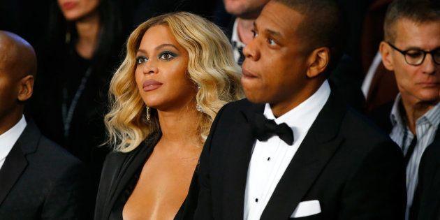 Beyoncé y Jay Z, en Las Vegas (Nevada, EEEU) en noviembre de