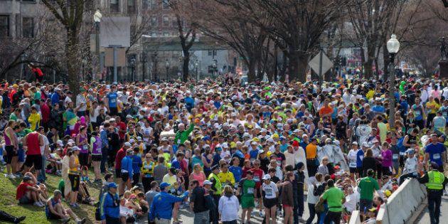 11 fotos impactantes de la maratón de Boston (VÍDEOS,