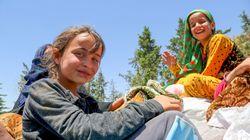 Sufrimiento en Raqqa: en cualquier lugar de Siria, los niños solo quieren ser