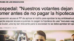 'La Vanguardia' rectifica las palabras de Cospedal