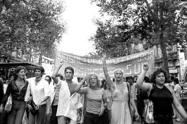 Foto cedida por la exposición 'Subversivas, 40 años de activismo LGTB en