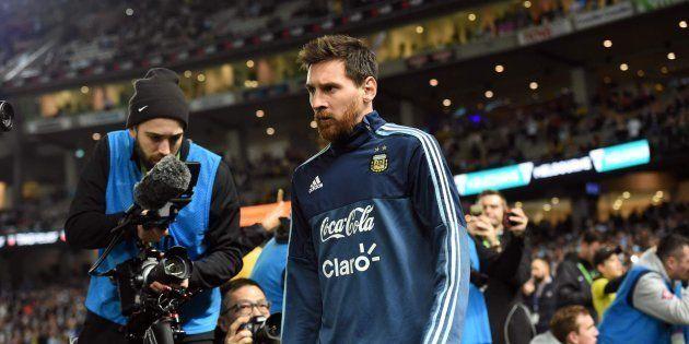 Messi desmiente la foto sobre él que más había
