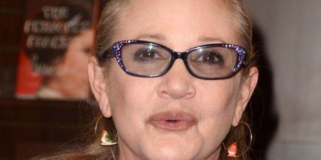 La actriz Carrie Fisher, en una imagen del 28 de noviembre de