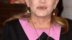 Carrie Fisher tenía restos de cocaína, éxtasis y heroína en su cuerpo cuando