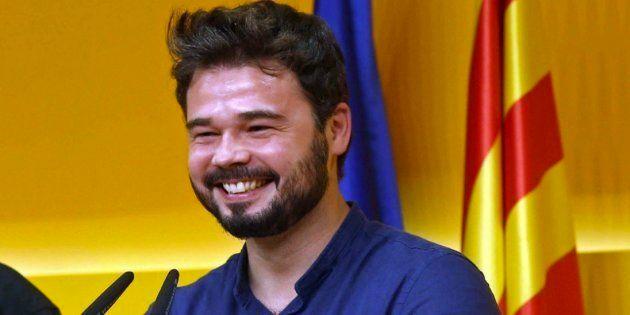 El tuit de Rufián sobre Peppa Pig y la bandera de España que arrasa en